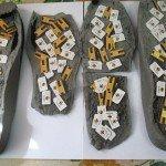 В верхнекамскую колонию прислали 100 сим-карт в подошвах тапочек