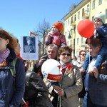 В Кирове в праздновании Дня Победы приняло участие рекордное число горожан