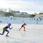 В Кирове прошли соревнования по конькобежному спорту