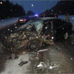 В Кирово-Чепецком районе водитель на иномарке столкнулся с трактором и грузовиком
