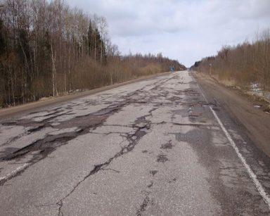В Кирово-Чепецке подрядную организацию заставили отремонтировать плохо сделанные дороги