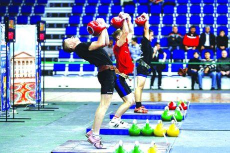 Кировчане завоевали награды на первенстве Европы по гиревому спорту
